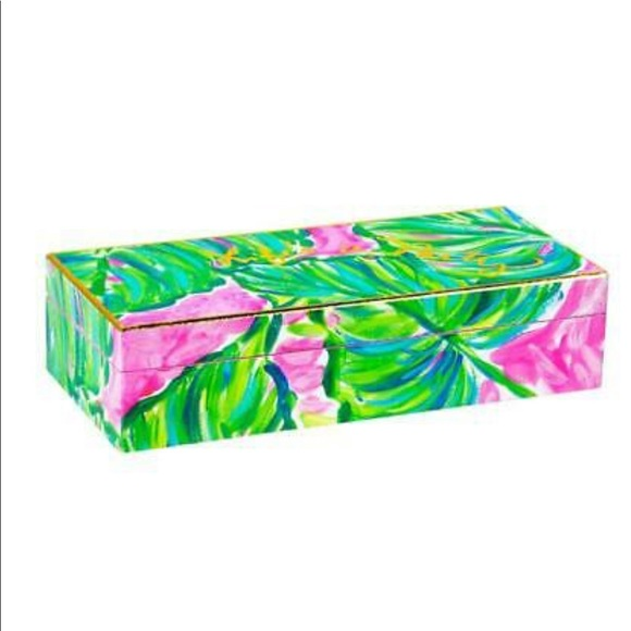 "Lilly Pulitzer Other - Lilly Pulitzer ""Life's A Party"" Jewelry Box"
